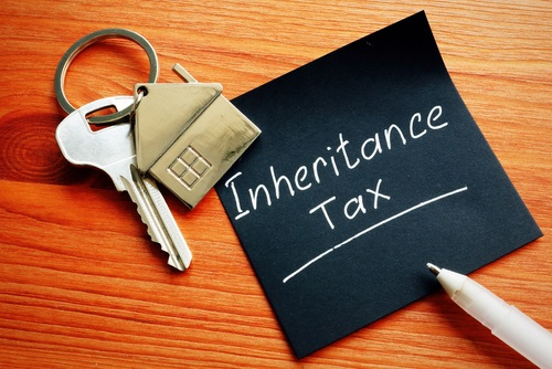 Inheritance Tax and key from inherited property.
